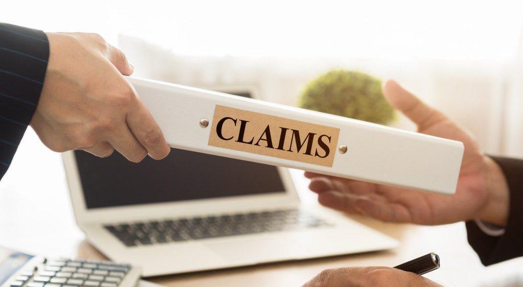 Filing a compensation claim
